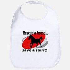 Rescue a Horse, Save a Spirit Bib