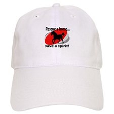 Rescue a Horse, Save a Spirit Baseball Baseball Cap