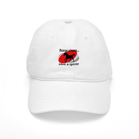 Rescue a Horse, Save a Spirit Cap