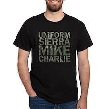 USMC-Camo T-Shirt