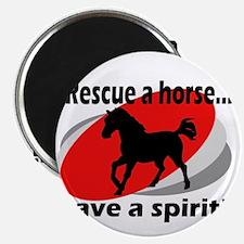 Rescue a Horse, Save a Spirit Magnet