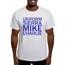 USMC-Blue T-Shirt