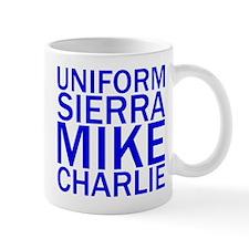 USMC-Blue Mug
