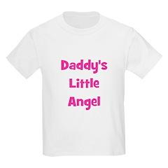 Daddy's Little Angel Kids T-Shirt