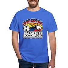 Czech Republic European Soccer 2012 T-Shirt