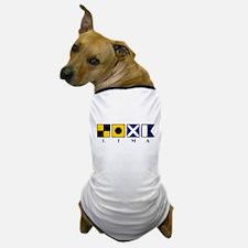 Nautical Lima Dog T-Shirt