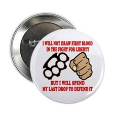 "In The Fight For Liberty 2.25"" Button"