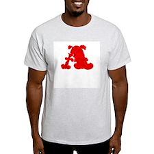 Scarlet Letter Ash Grey T-Shirt