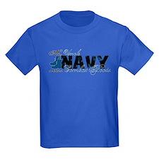 Uncle Combat Boots - NAVY T