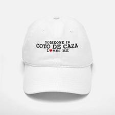 Coto De Caza: Loves Me Baseball Baseball Cap