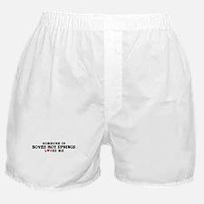 Boyes Hot Springs: Loves Me Boxer Shorts
