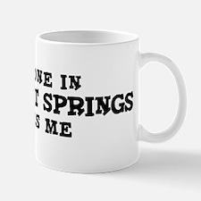 Boyes Hot Springs: Loves Me Mug