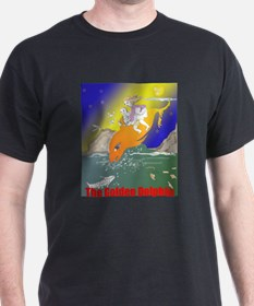 Mr Gloop The Adventure of the Golden Dolphin T-Shirt