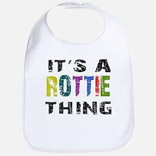 Rottie THING Bib