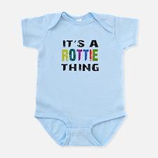 Rottie THING Infant Bodysuit