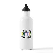 Rottie THING Water Bottle