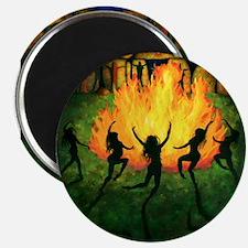 "Fire Dance 2.25"" Magnet (10 pack)"