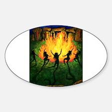 Fire Dance Decal