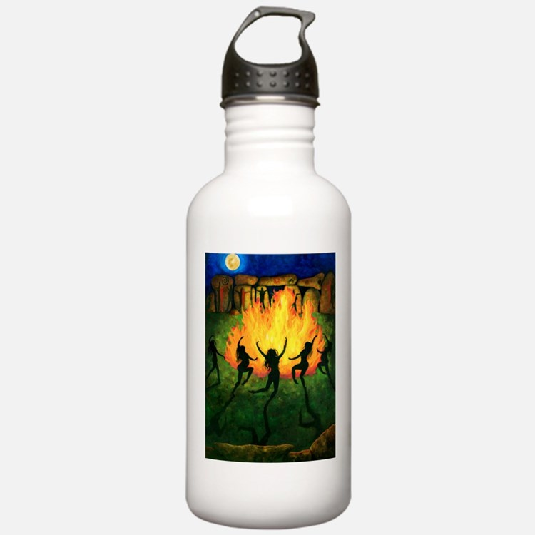 Fire Dance Water Bottle
