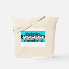 Horse Rescue Tote Bag
