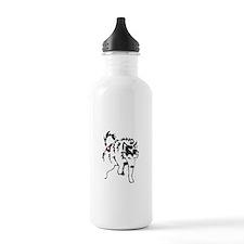 Alaskan Malamute Weight Pull Water Bottle