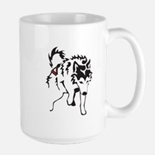 Alaskan Malamute Weight Pull Large Mug