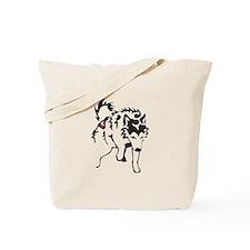 Alaskan Malamute Weight Pull Tote Bag