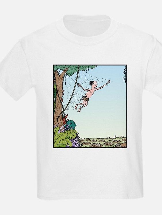 Tarzan runs out of Jungle T-Shirt