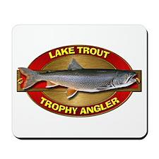 Trophy Lake Trout Angler Mousepad