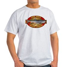 Trophy Lake Trout Angler T-Shirt