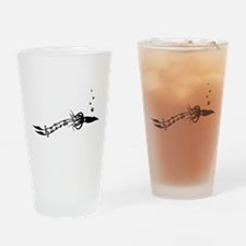 Musical Squid Drinking Glass