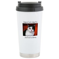 Judgment Cat Travel Mug