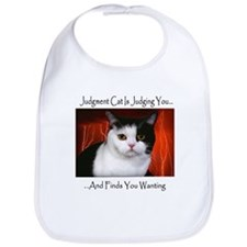 Judgment Cat Bib
