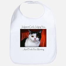 Judgment Cat Bib
