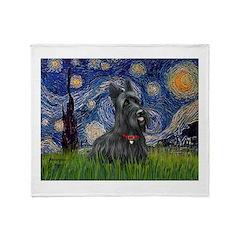 StarryNight-Scotty#1 Throw Blanket