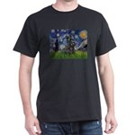 StarryNight-Scotty#1 Dark T-Shirt