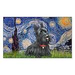 StarryNight-Scotty#1 Sticker (Rectangle)
