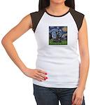 StarryNight-Scotty#1 Women's Cap Sleeve T-Shirt