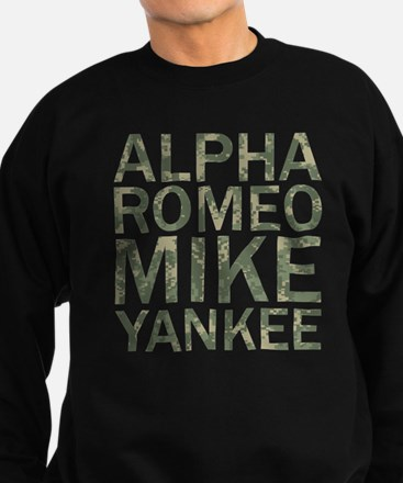 ARMY-Camo Sweatshirt (dark)