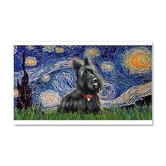 StarryNight-Scotty#1 Car Magnet 20 x 12
