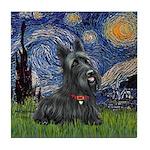 StarryNight-Scotty#1 Tile Coaster