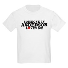 Anderson: Loves Me Kids T-Shirt
