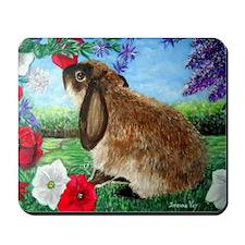 Rabbit Art Mousepad