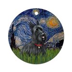 StarryNight-Scotty#1 Ornament (Round)