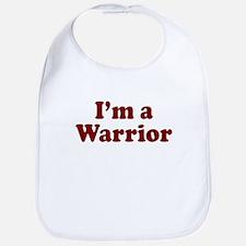 Im a Warrior Bib