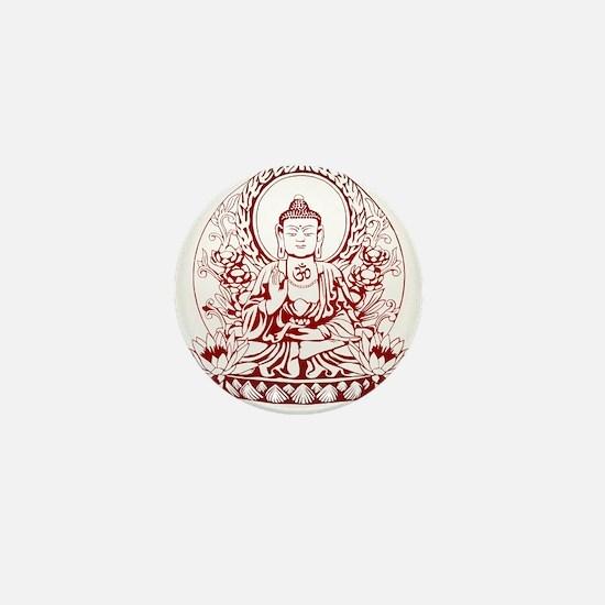 Gautama Buddha Mini Button