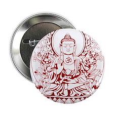 """Gautama Buddha 2.25"""" Button"""