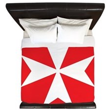 Maltese Cross King Duvet