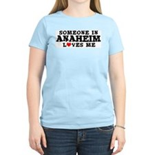 Anaheim: Loves Me Women's Pink T-Shirt