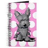 Scottie dog Journals & Spiral Notebooks